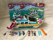 Lego Friends 41015 Dolphin Cruiser Set 100 Complete With Manuals