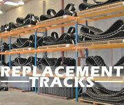 Cat 279c,289c 18 Replacement Tracks,set Of Two Tracks,dominion,6 Monthwarranty