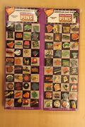 1988 Vintage Enamel Lapel Pins Hatpin Button Collection Lot Of 160 Display Rare