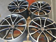 Gm Oem Gunmetal W Machined Face C7 Grand Sport Corvette Wheels C7 Z06 C6 Zo6 Zr1