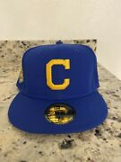 Hat Club Exclusive 7 3/8 Lbj Andldquoi Want My Respect Too Collection Cleveland Indians
