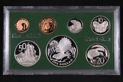 New Zealand 1980 7-coin Proof Set