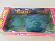 Terrence The Turtle Plush And 2 Books 1996 Sealed Rare Collectible
