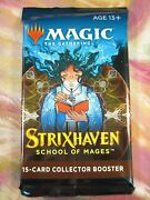 Strixhaven Collector Booster Pack Mtg Stx Sta Factory Sealed English New
