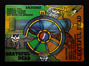 Grateful Dead Backstage Pass Puzzle Civil War Cannon Hampton Virginia 3/56/1992