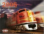 M.t.h. Electric Trains Premier Railking O Gauge And O Scale 2005 Vol 1 Catalog