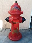 Jack Daniels Tennessee Fire Hydrant Man Cave Display Decor Advertising 36andrdquo