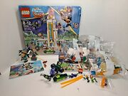 Lego Friends Super Hero High School 41232 And Bumblebee Helicopter 41234 Lot