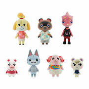 Bandai Animal Crossing New Horizons Friend Doll 8pack Box Candy Toy