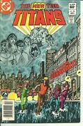 The New Teen Titans Vol. 2 26 Dc, 1982 1st Appearance Of Terra George Perez