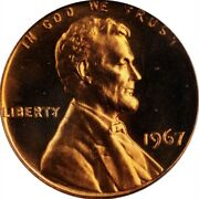 1967 Sms 67 Red Cameo Pcgs Memorial Lincoln Cent Penny Pop 34 Only 1 Higher