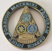 Authentic Usic Odni Dod Dia Joint Foreign Material Program Office Cut Out Coin