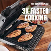 Contact Smokeless - Ready Grill Family Size 4-6 Servings Great Grilling Fun