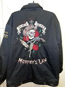 Lucky 13 Jacket Murphy's Law Death Glory Uss Boston Ca-69 Embroidered Size Xxl
