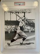 1958-62 Babe Ruth Psa Type 4 Photograph - Used For 1932 Sanella Card Yankees