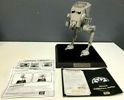Star Wars Code 3 Collectibles At-st 172/1500 Limited Diecast Display Model Mib