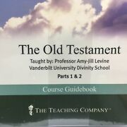 The Old Testament Great Courses Teaching Co. 4 Dvds And Course Guidebook New