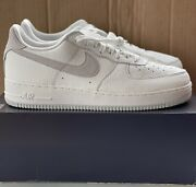 Nike Air Force 1 '07 Craft Low Shoes White Photon Dust Cn2873-100 Men's Size 14