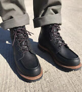 Sample Red Wing Heritage Sawmill 2932 In Black Oil Slick Leather Men's 9.5