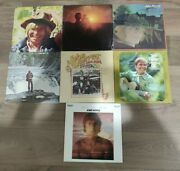 Lot Of 7 John Denver Vinyl Lp Records - Greatest Hits Rocky Mtn High And More