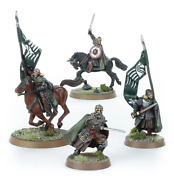 Warhammer Mounted Rohan Command The Lord Of The Rings Metal New