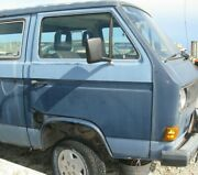 Used 1984 Volkswagen Vanagon Right Front Door Assembly Manual