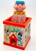 1970 51years Old Fisher Price Jack-in-the-box Puppet,