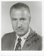 Spiro T. Agnew - Autographed Inscribed Photograph