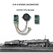 4-8-4 Nothern Soundgt2 Dcc Decoder For Bachmannr Rivarossi Athearn Or Brass