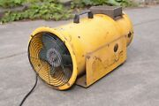 Pelsue 1590 Axial Propane Heater And Blower 120 Volt And Propane 45,000 Btu's