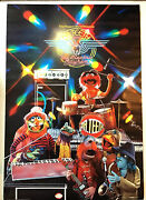 Dr. Teeth And The Electric Mayhem Muppet Show Vintage Poster