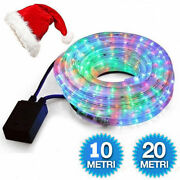 Tube Bright Christmas Lights Multicolor Outdoor Rgb Various Lengths