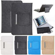 9 10.1 Inch Android Tablet Flip Leather Case With Wireless Keyboard Universal