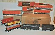 Lionel Electric Train Prewar For O/027 1089 Freight Train Outfit Set In Ob