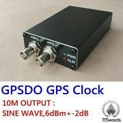 Lcd-gps Disciplined Oscillator Pll Tame Clock Gps Receiver 10m Sine Wave / 1pps