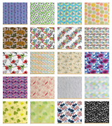 Ambesonne Floral Bouquet Fabric By The Yard Decorative Upholstery Home Accents