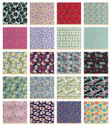 Ambesonne Floral Bunch Fabric By The Yard Decorative Upholstery Home Accents