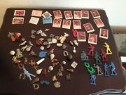 Junk Drawer Lot Of 80+ Vintage Gumball Machine Prize Cracker Jack Toy Charms Etc
