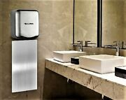 Alpine Industries Hemlock Commercial Steel Automatic Hand Dryer With Wall Guard