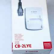 Charger Cb2lye For Canon Powershot D Sd Sx Elph Ixus And Ixy Series Dig.cameras