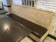 Restaurant Seating Banquttes / Booth Chocalate And Tan 96 X 39 X 25