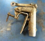 1940 Evinrude Elto 1.8 Hp Ace 4351 Outboard Motor Transom Clamp / Mid-section