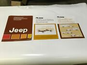 1980 80 Jeep Product Information Packet Towing And 4 Wheel Drive Systems Manuals