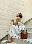 Handm Ankle Length Linen Blend Dress Conscious A Meadow Of Wildflowers Collection