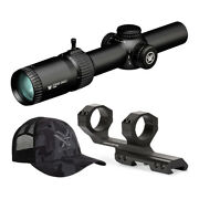 Vortex Strike Eagle 1-6x24 Riflescope 2020 Model With Cantilever Rings And Hat