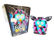 Furby Boom 2013 Triangles Furby Boom Black, Pink And Blue Fur Boxed Highly Rare