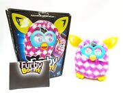 Furby Boom 2013 Pink Cubes Furby Boom Pink, Purple And White Fur Boxed Very Rare