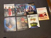 Lot Of 11 Back Issues Disney Newsreel Issues From 2008 - 2014 Mix Lot See Pics