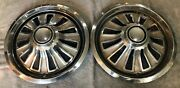 Two 1967 Mercury Cougar Cougar Xr7 14 Hubcaps - C7wy-1130-f - 608