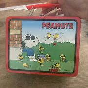 Vintage Joe Cool Snoopy Lunch Box Series 1 A.s.c.